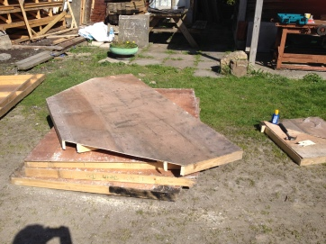Pillbox roof takes shape